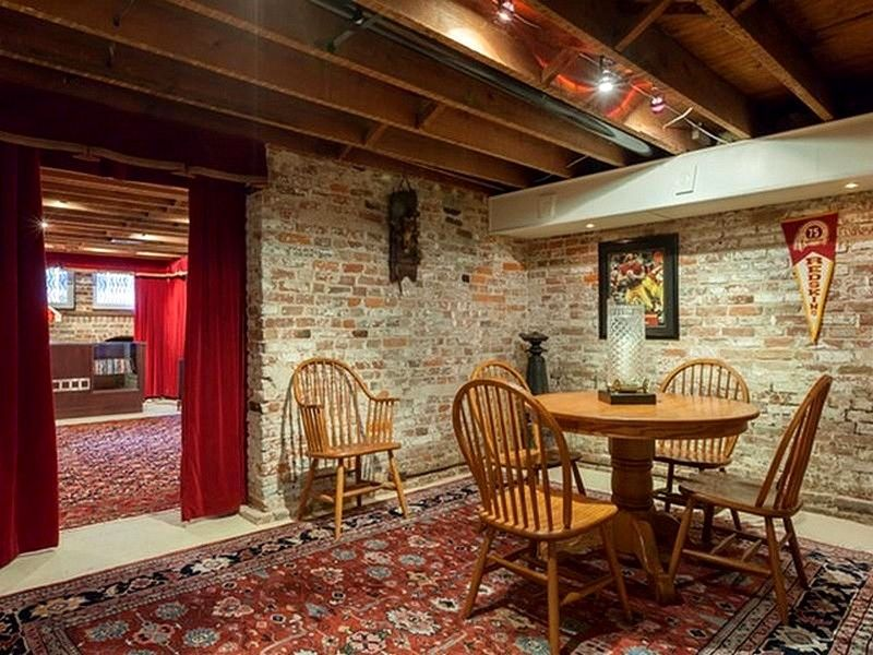 images of tuscan style basement with brick  google search  o'kane