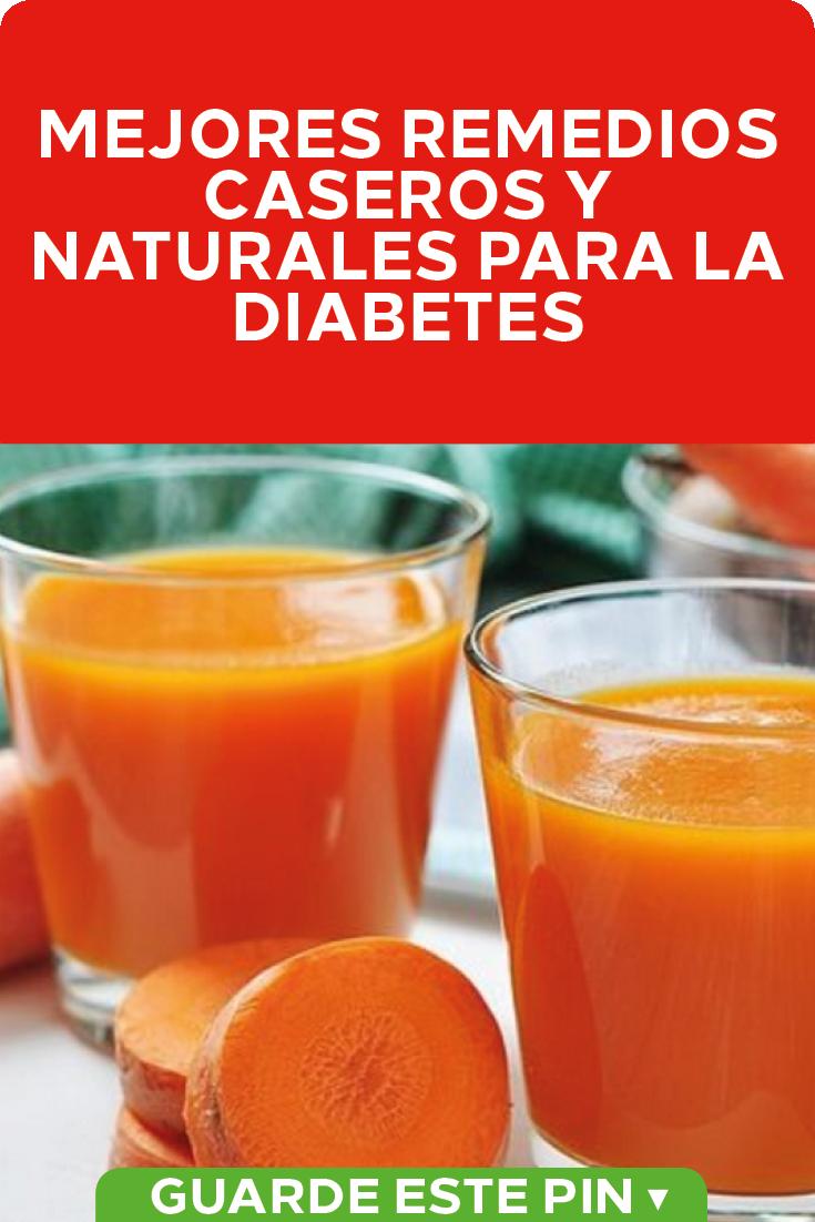 recetas caseros para la diabetes