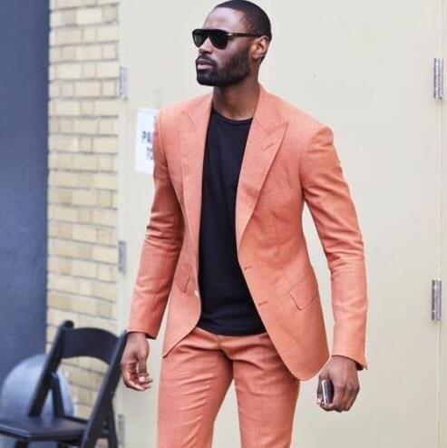 Brand New Groomsmen One Button Groom Tuxedos Peak Black Lapel Men Suits Wedding Best Man Blazer ( Jacket+Pants+Tie ) C526