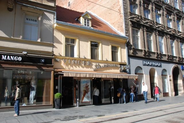 Vincek Offers The Best Ice Cream And Cakes In Zagreb Croatia Zagreb Casablanca Restaurant Caffe Bar Lounge Cool Places To Visit Zagreb The Good Place