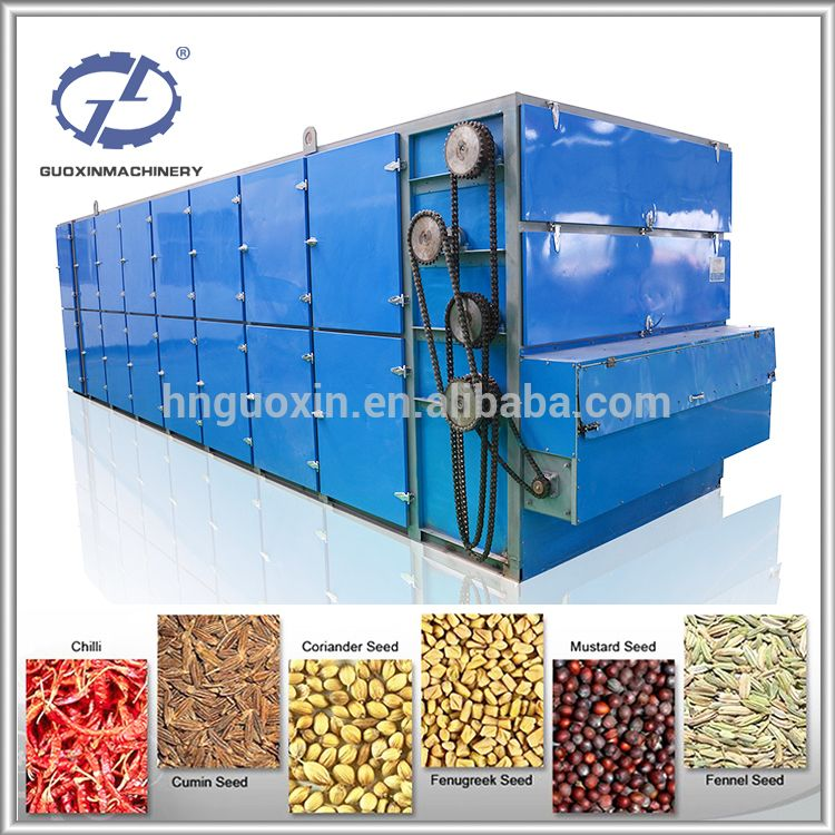 Continuous Dehydrator Black Pepper Drying Machine With High Efficiency Dehydrator Coriander Seeds Cumin Seed