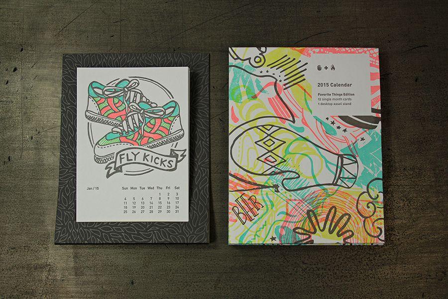 2015 Studio on Fire desk calendar I have this Pinterest - sample 2015 calendar