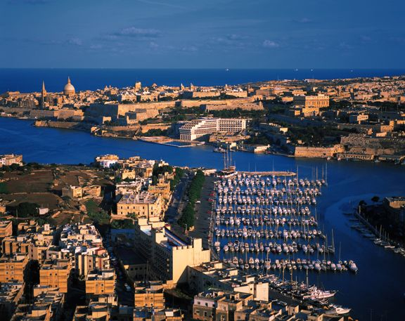 Settled In Marsamxett Harbour Malta Valletta Travel Holidays