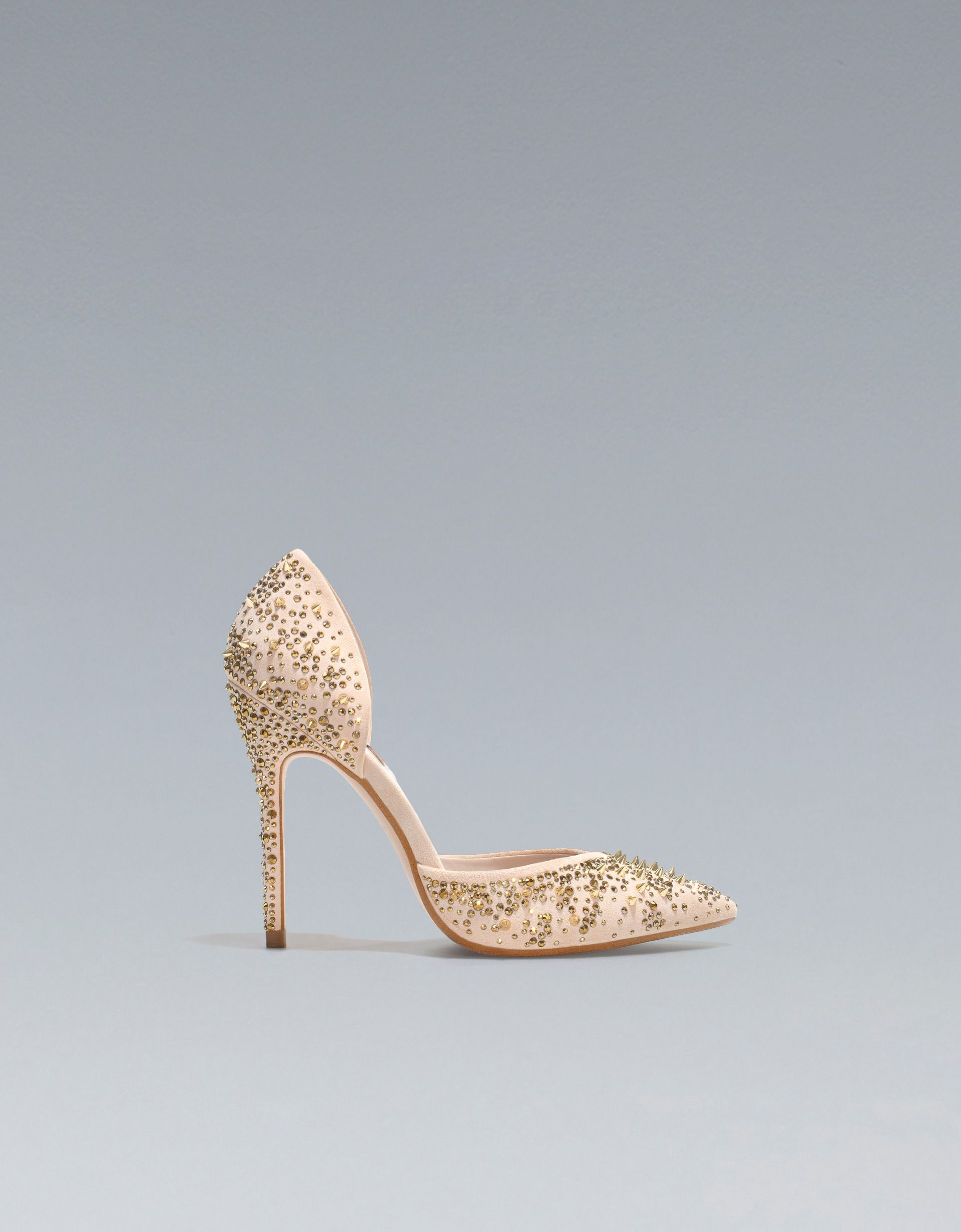 2d4a006b PALA TALÓN TACHAS - Zapatos - Mujer - Nueva Colección - ZARA Colombia  Zapatos De Novia