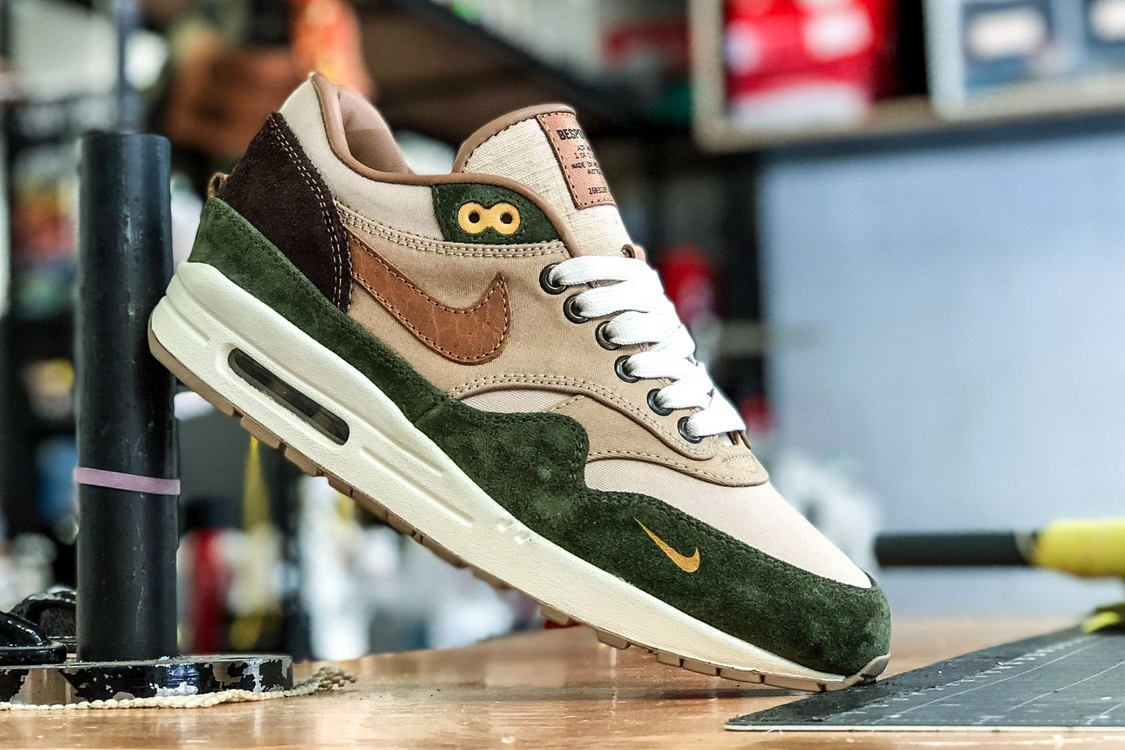 outlet store good wholesale BespokeIND Unveils a Carhartt WIP-Inspired Nike Air Max 1 ...