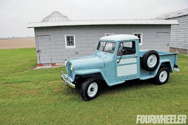 1948 Willys Overland Jeep Truck Backward Glances Willys Jeep