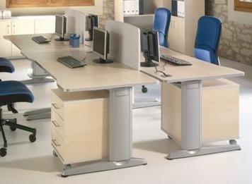 Mobiliario de oficina - linea metal