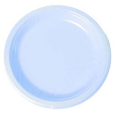 Powder Blue 10 inch Plastic Plates/Case of 200  sc 1 st  Pinterest & Powder Blue 10 1/4 inch Plastic Plates/Case of 200 | Party Supplies ...