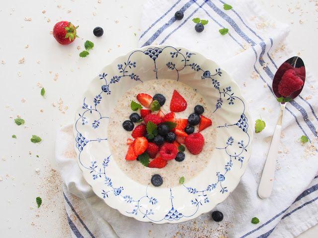 Tuorepuuro — Peggyn pieni punainen keittio