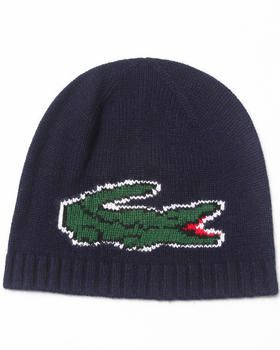 abcff6dde59 Buy Oversized Pixel Croc Beanie Men s Hats from Lacoste. Find Lacoste  fashions   more at DrJays.com