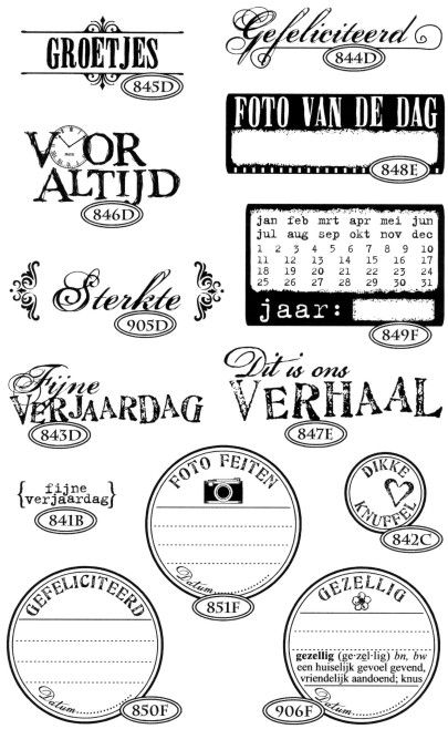 Catslife Press Rubber Stamp Catalog Stamp Catalogue Stamp Digital Stamps