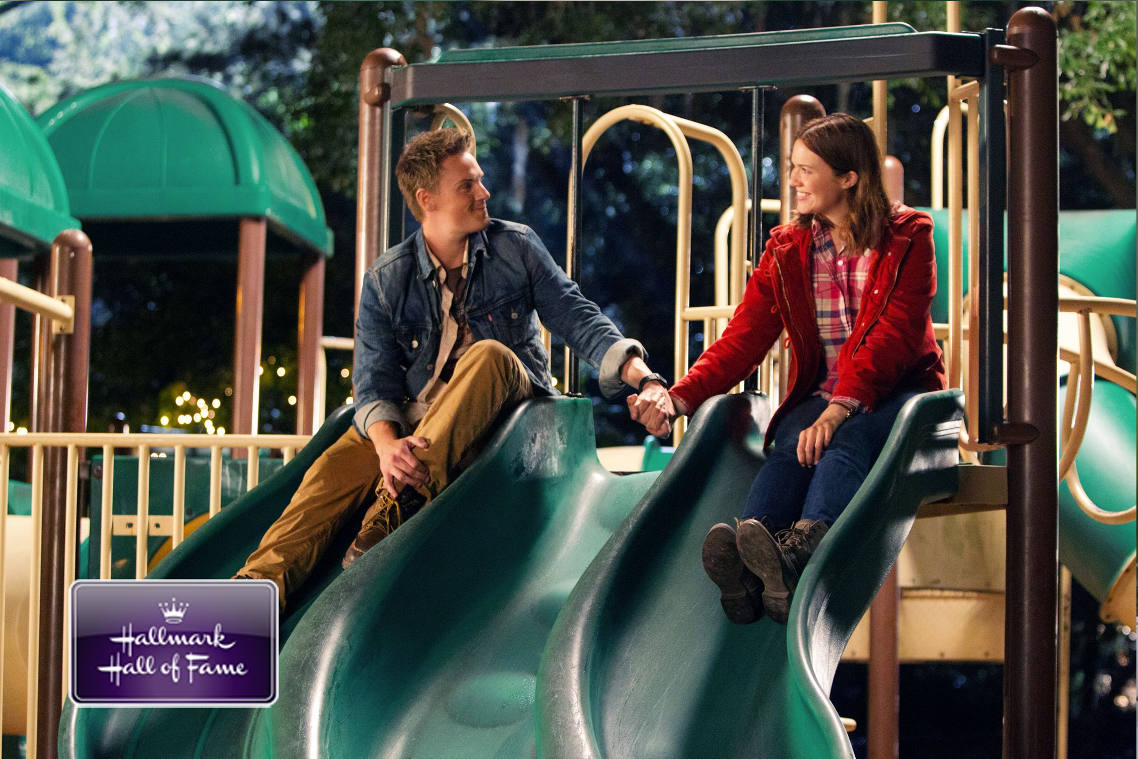 Christmas In Conway.Hallmark Hall Of Fame S Christmas In Conway Riley Smith And