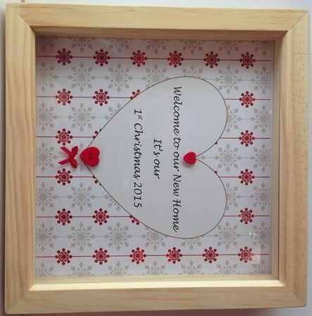 Welcome to our New Home - 1st Christmas  http://www.forevergifts.uk/product/welcome-to-our-new-home-1st-christmas/