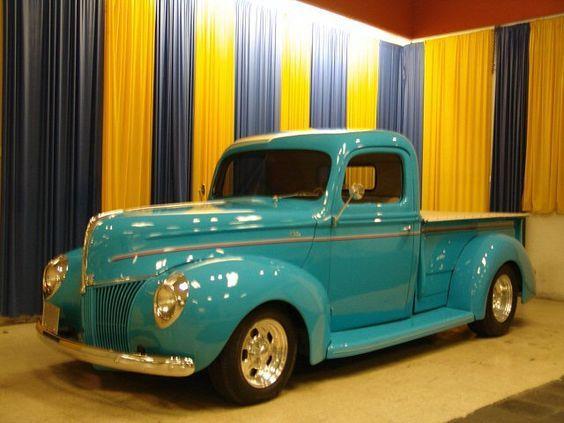 1940 Ford Pikap Classic Pickup Trucks Ford Vintage Trucks