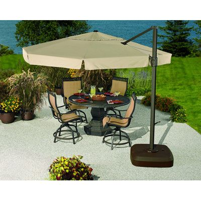 Living Home Outdoors 11u00276  Cantilever Umbrella with LED Light - BJu0027s Wholesale Club  sc 1 st  Pinterest & Living Home Outdoors 11u00276