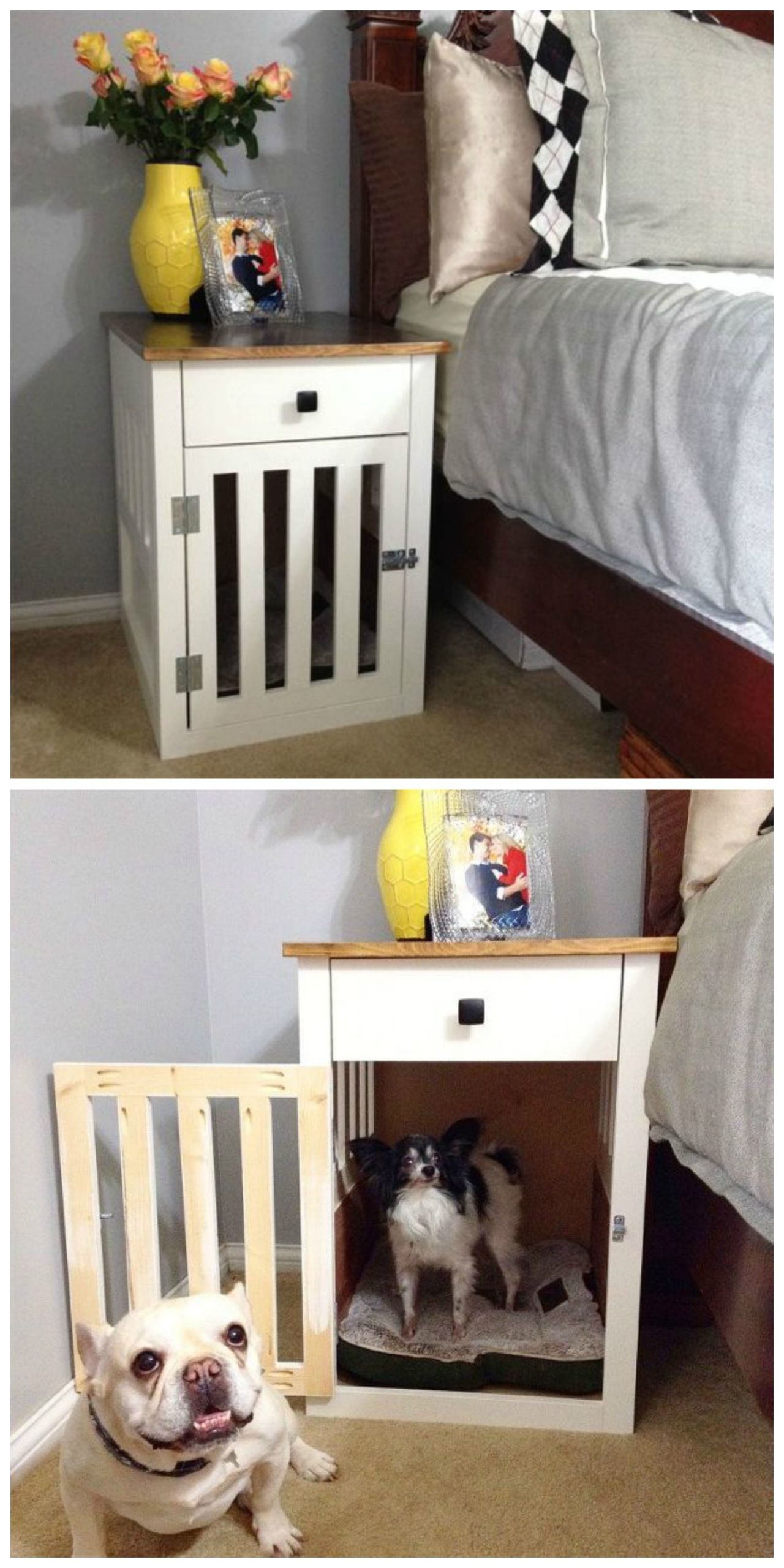 Comfy DIY Dog Beds Your Pooch Will Love Diy dog crate