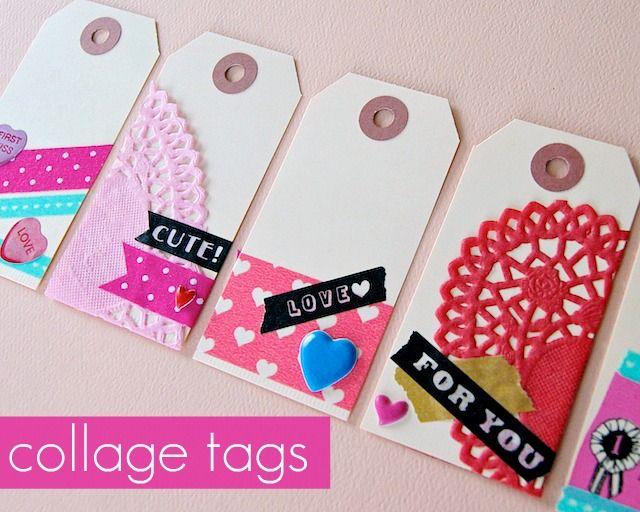 Picture Of DIY vintage Valentine tags