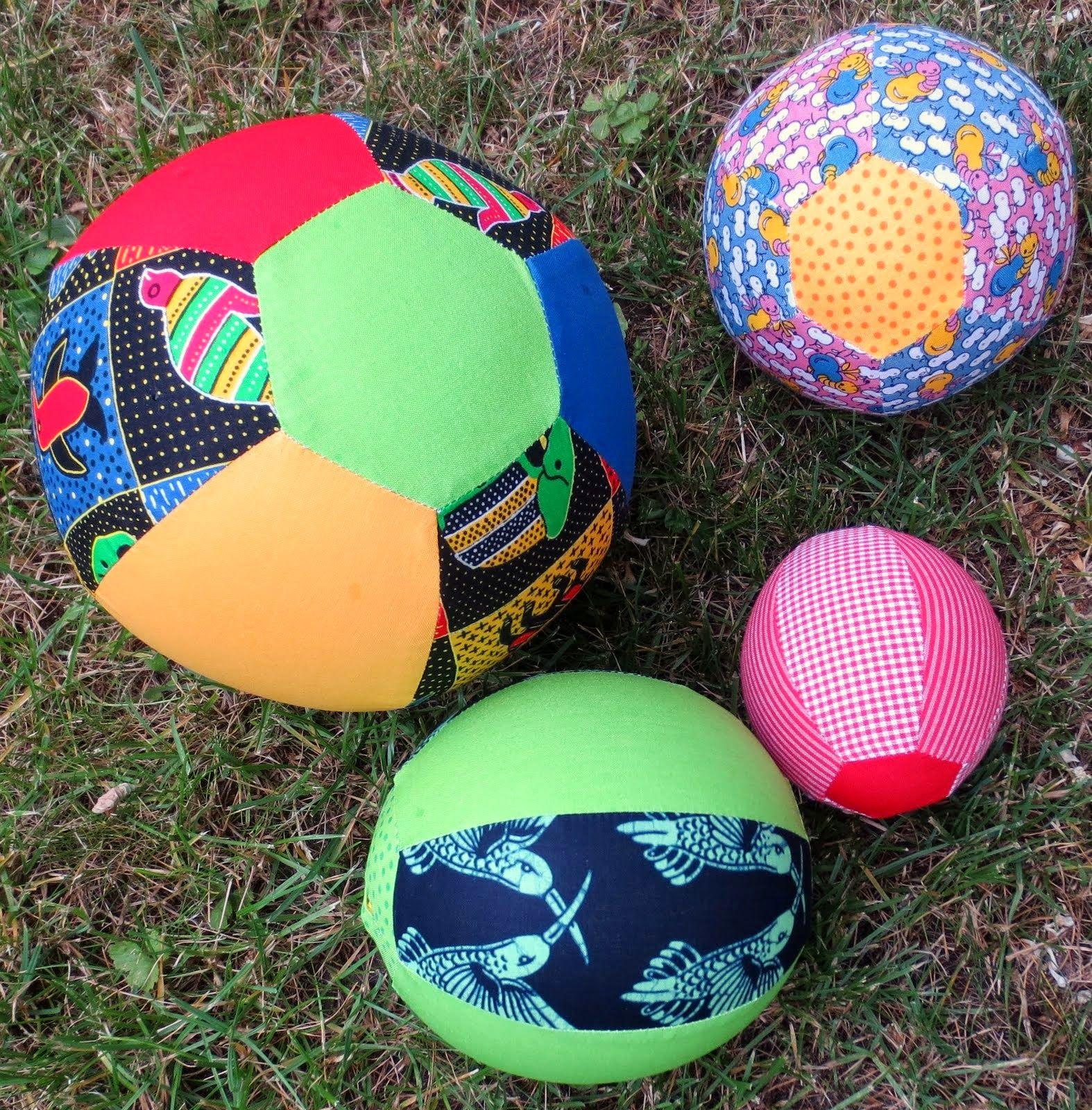 luftigleichte stoffbälle mit bildern  ball stoffe kinder