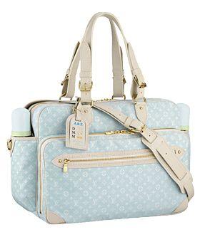 ffa1fbcc75 Louis Vuitton Diaper Bag (Powder Blue) | Future Baby Girls Nursery ...
