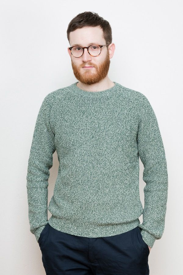 Multiyarn Knit Sweater via COUDRE BERLIN. Click on the image to see more!