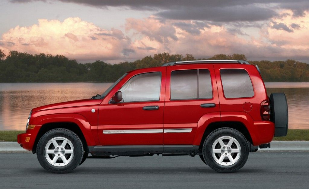 Jeep Liberty Red Jeep liberty, 2007 jeep liberty
