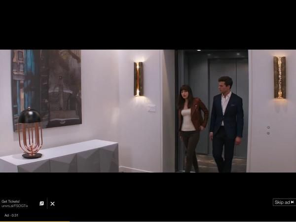 Screencaps from new #FiftyShades Tv spot