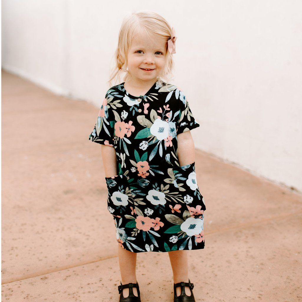 21becf8218882 Love to match with your mini? This is the perfect way! Our Girls 24/7  Dresses are an exact replica of.