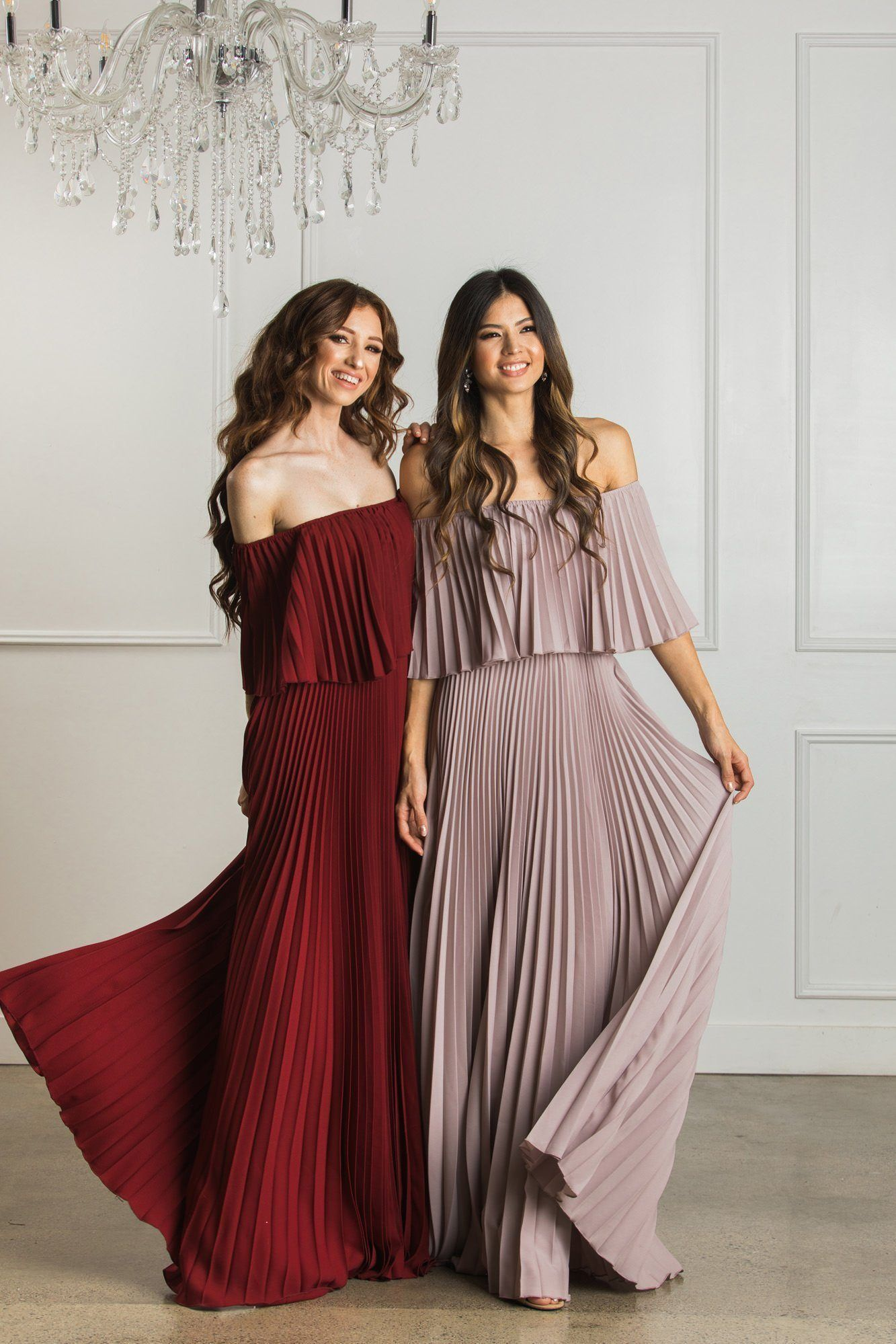 ddd0dc0cf3bf Candace Pleated Maxi Dress in 2019 | Holiday Inspiration | Dresses ...