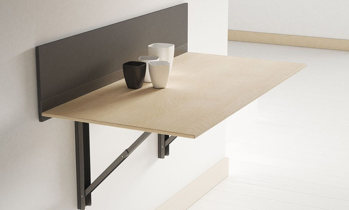 - Click Wall-mounted Folding Table Of Cancio - Idea Of Small Table