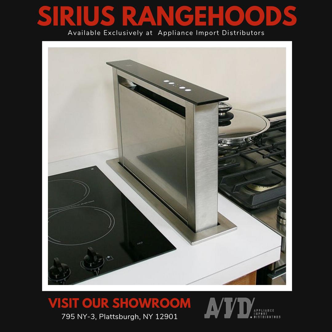 Sirius Range Hoods Where Style Meets Functionality Appliance