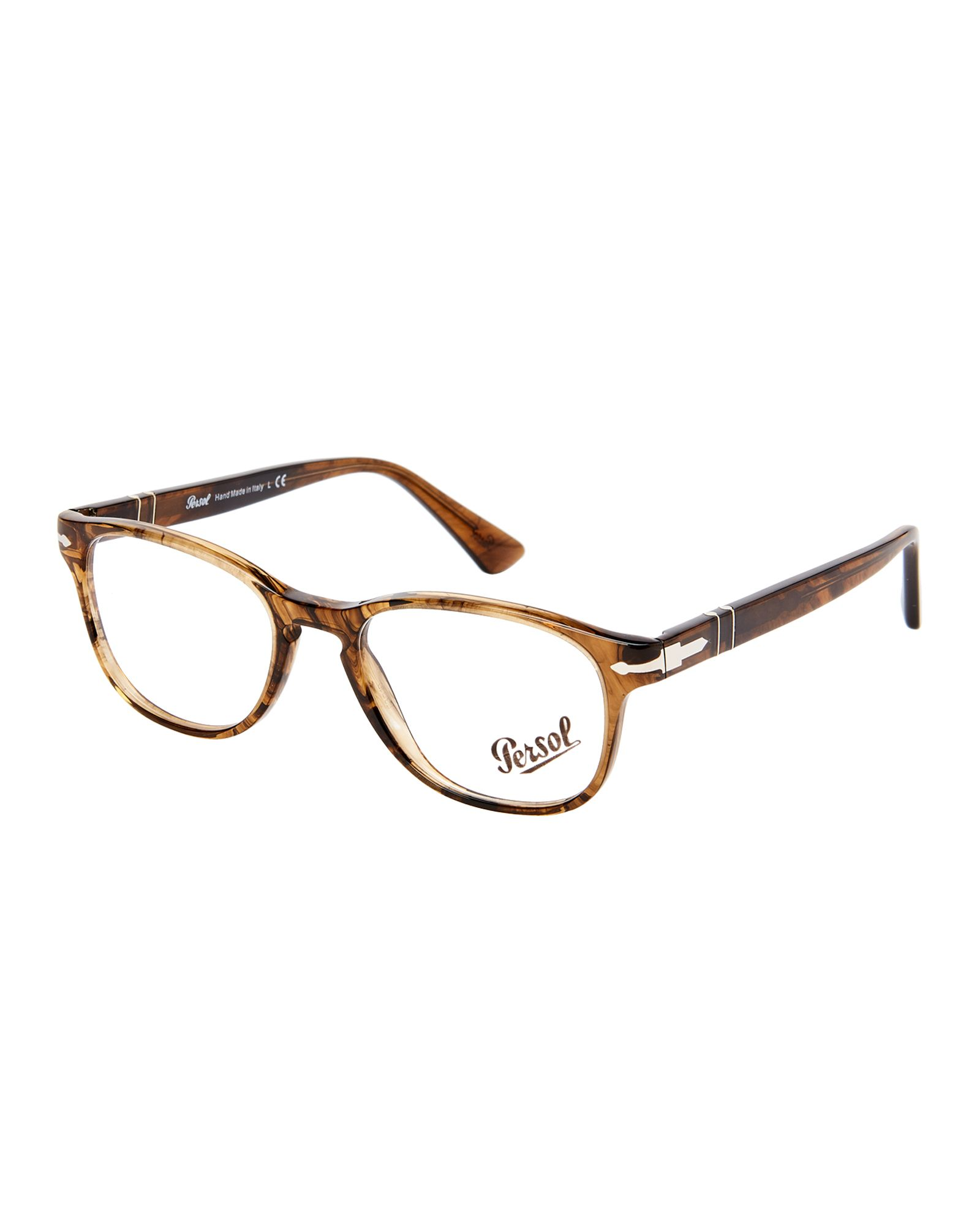 Persol PO3085 Light Brown Oval Optical Frames | *Apparel ...