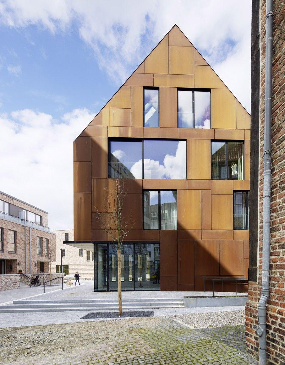 K2 Architekten böge lindner k2 architekten alte feuerwache arkaden vordach
