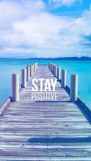 Queres Começar A Pensar Positivo, Junta Te A Mim.