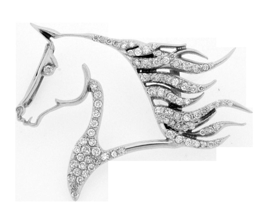 Diamond horse head pendant chuchwells jewelers tennessee 16 diamond horse head pendant chuchwells jewelers aloadofball Choice Image