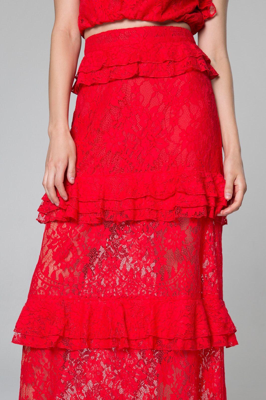 Otis ruffle maxi skirt dressesrompersformal pinterest