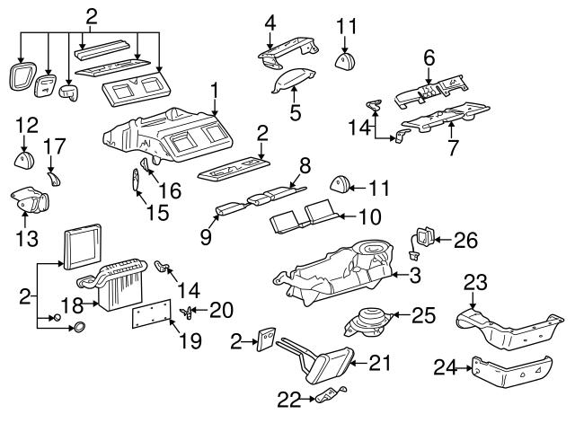 Actuator Actuator Buick Oem Parts