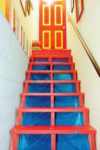 I need to paint my basement steps!