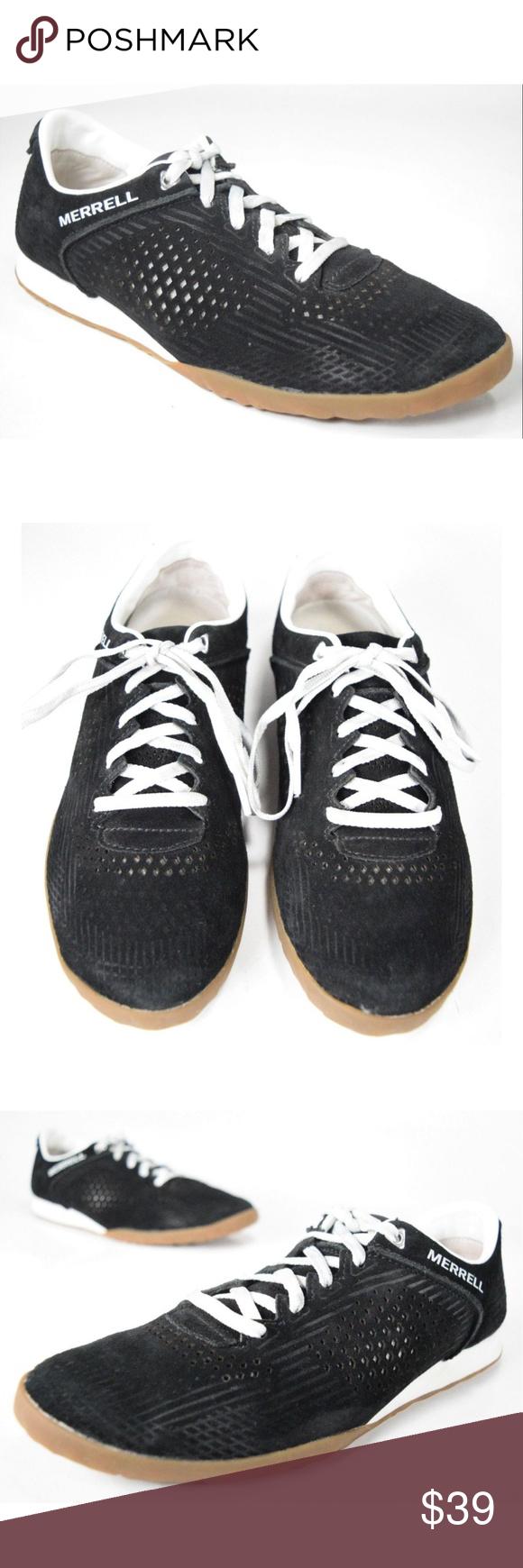 timeless design temperament shoes convenience goods Merrell Black Suede CIVET SPORT BREEZE Shoes This is a pair ...