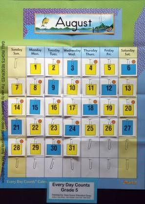 Www Edconline Net Every Day Counts Calendar Math Online K 5