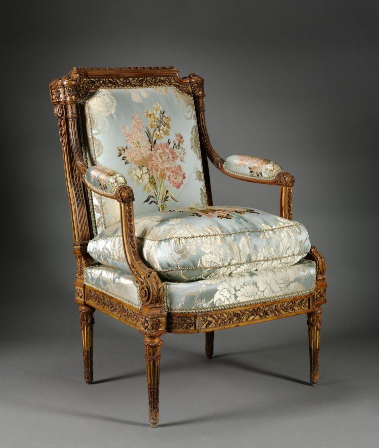 Armchair (Fauteuil)   Cleveland Museum Of Art   C. 1785 Nicolas Denis