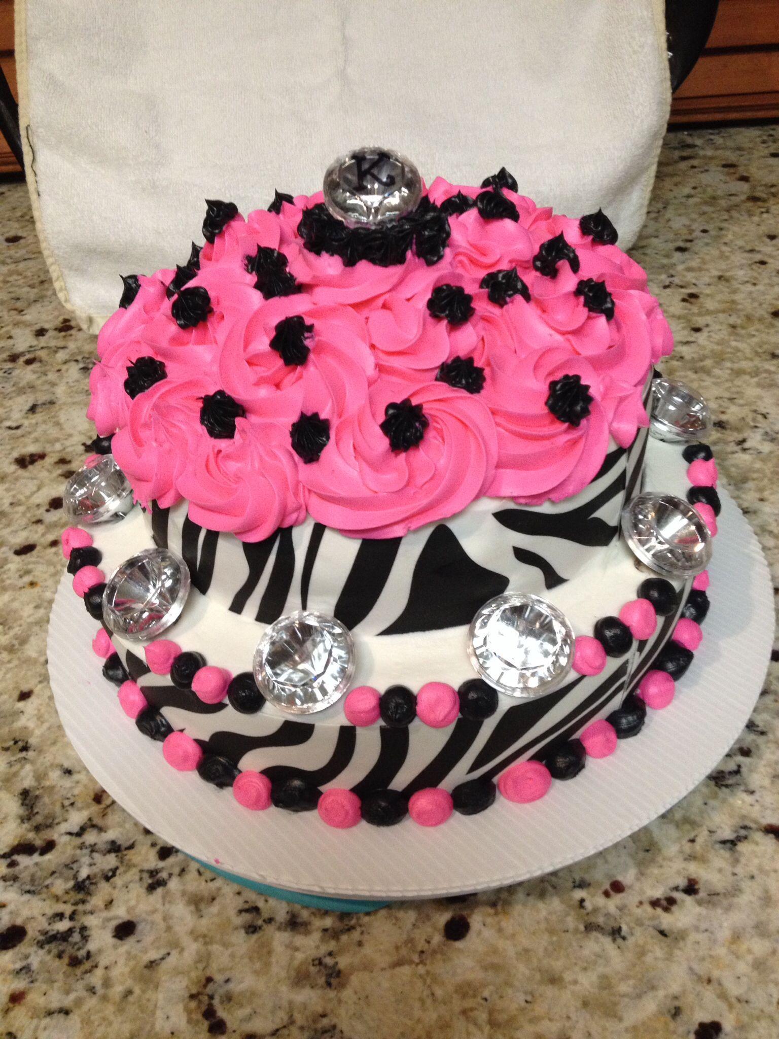 Bling zebra cakeusing wiltons sugar sheets cake cake