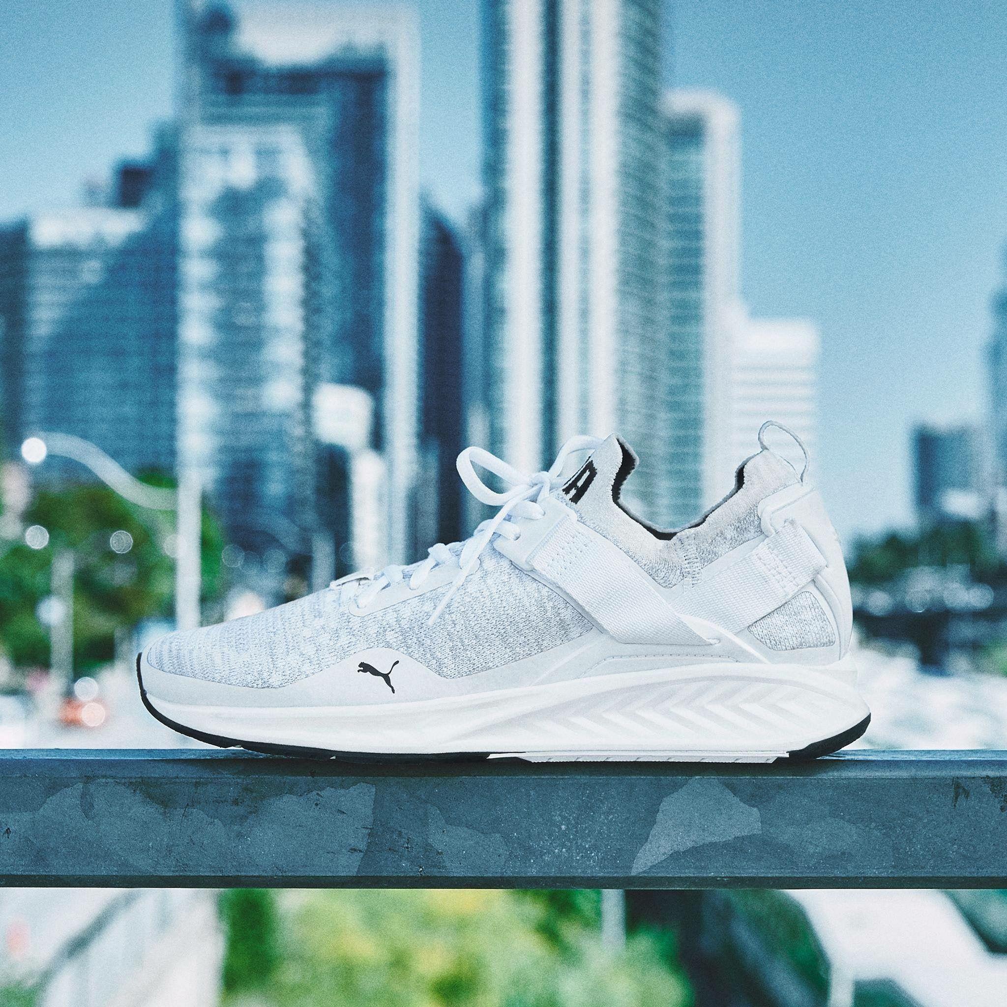 quality design 1eadd a4807 Puma Ignite EvoKNIT Lo Puma Sneakers Shoes, Pumas Shoes, Gym Gear, Training  Shoes