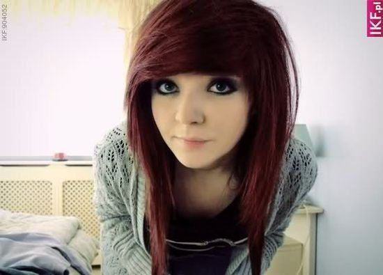 I Love This Hairstyle Pomysły Na Fryzurę Fryzury Emo