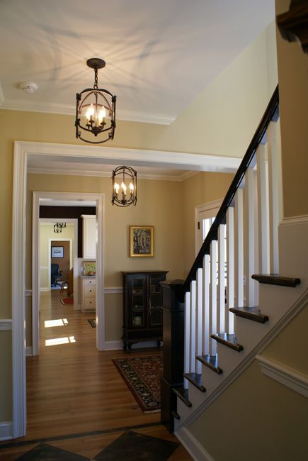 Small foyer lighting ideas