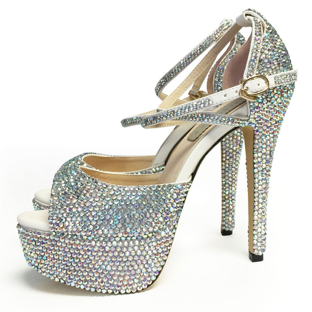 Pageant Shoes, Heels, Strappy High Heels