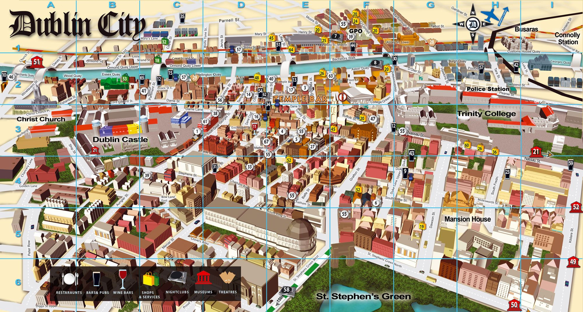 Best Town Maps For Tourist Google Search City Map