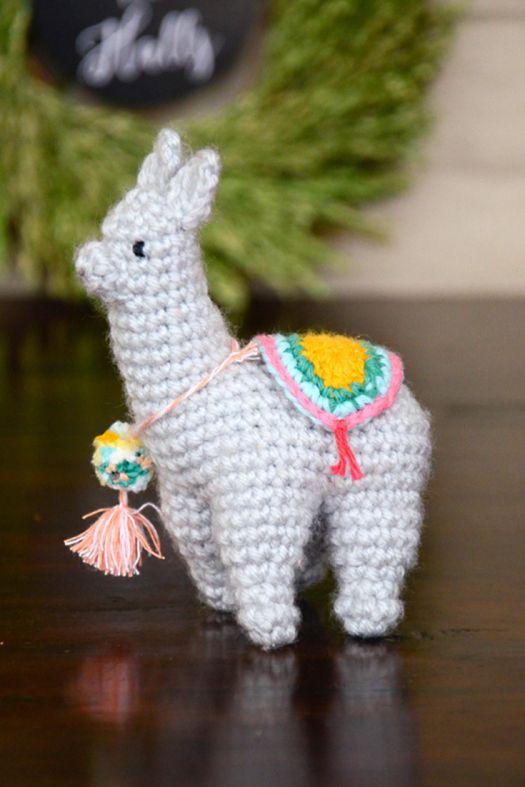 Falalala Llama | crochet | Pinterest | Adornos de navidad, Llamas y ...