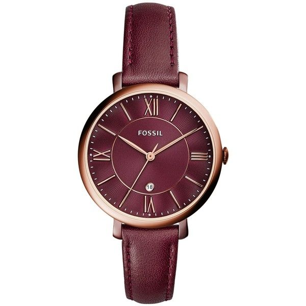 Fossil Wrist Watch (€135) ❤ liked on Polyvore featuring jewelry, watches, c3c361fcad