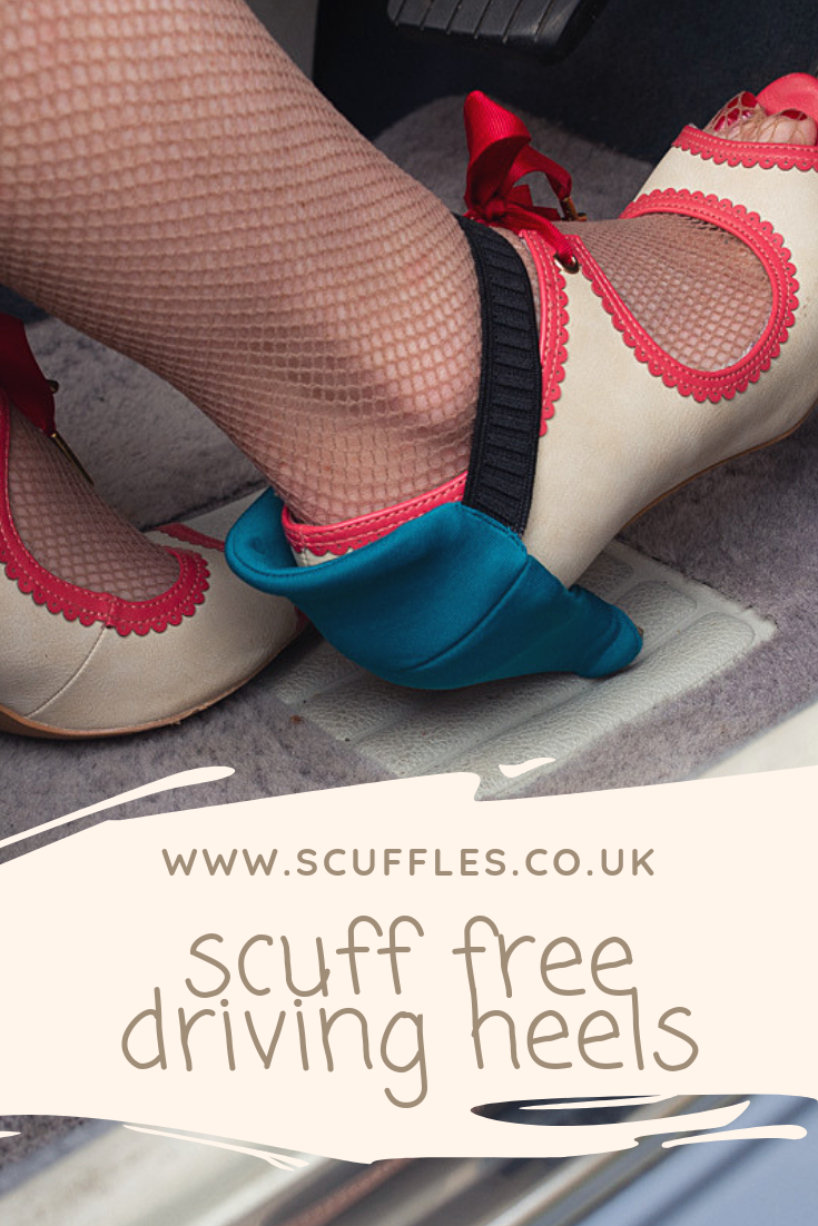 0262677fe56 Scuff FREE Driving Heel Protectors. Scuffles is a British Made ...