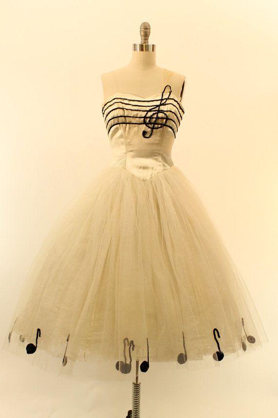 Dress The 50s Music 1950s Arpeggio Xxs Tulle Sequin lKcTJF13